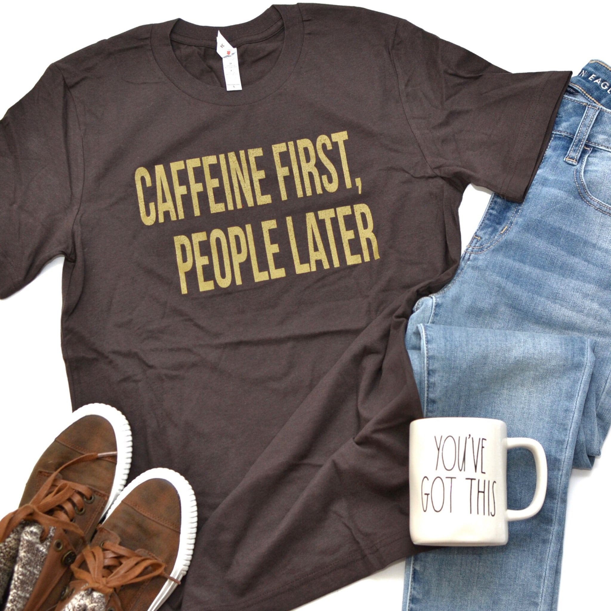 Caffeine First, People Later