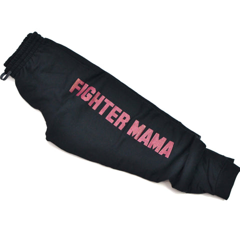 READY TO SHIP Fighter Mama [Black Joggers]