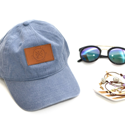 CQC Logo Hat [Denim - READY TO SHIP]