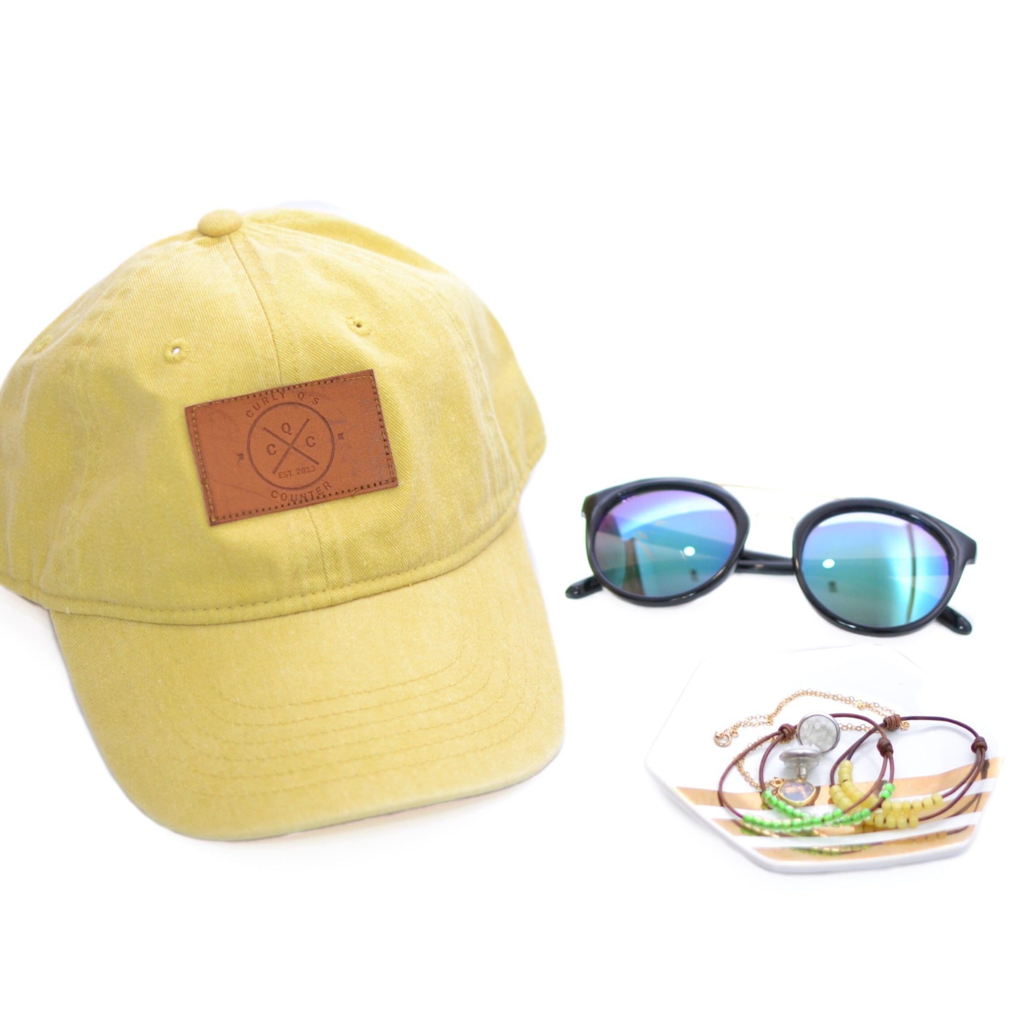 CQC Logo Hat [Mustard - READY TO SHIP]