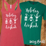 Holiday Workout Shirts - Sorry Charli