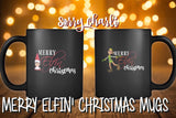 Merry Elfin' Christmas Coffee Mug - Sorry Charli