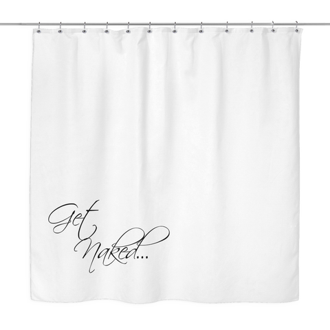 Get Naked... Shower Curtain - Sorry Charli