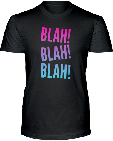 Blah! Blah! Blah!  Kid's T-Shirts
