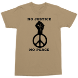No Justice No Peace Military Style T-Shirt