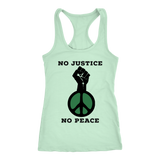 No Justice No Peace Tank Top