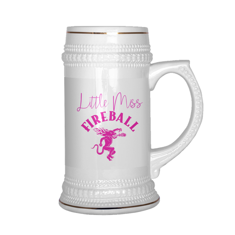 Little Miss Fireball Beer Stein - Sorry Charli