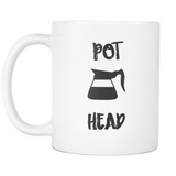 Pot Head Coffee Mug - Sorry Charli
