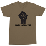 Black Lives Matter Military Style T-Shirt