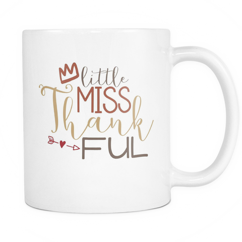 Little Miss Thankful Coffee Mug