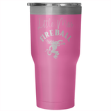 Little Miss Fireball Tumbler 30oz Cup - Sorry Charli