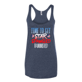 Time To Get Star Spangled Hammered Tank Top - Sorry Charli