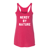 Nerdy By Nature Tank Top - Sorry Charli
