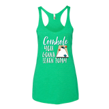 Cornhole You Gonna Learn Today Tank Top