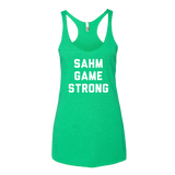 SAHM Game Strong Tank Top