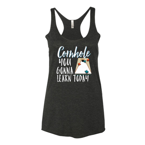 Cornhole You Gonna Learn Today Tank Top - Sorry Charli