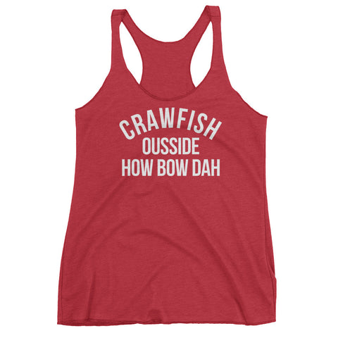 Crawfish Ousside How Bow Dat Tank Top - Sorry Charli