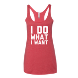 I Do What I Want Tank Top - Sorry Charli