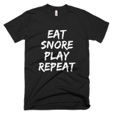 Eat Snore Play Repeat DAD T-shirt - Sorry Charli