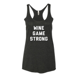 Wine Game Strong Tank Top - Sorry Charli
