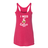 I Need Coffee Tank Top