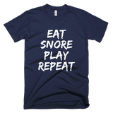 Eat Snore Play Repeat DAD T-shirt