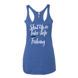 Shut Up & Take Me Fishing Tank Top - Sorry Charli