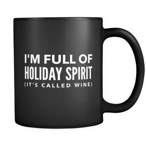 I'm full of holiday spirit (it's called wine) - Sorry Charli