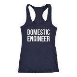 Domestic Engineer Tank Top Solid - Sorry Charli