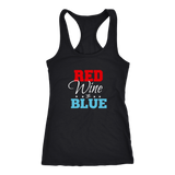 Red Wine and Blue Tank Top