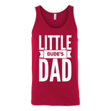 Little Dude's Dad Matching Tank Top - Sorry Charli