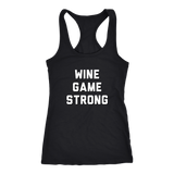 Wine Game Strong Tank Top Matching Set - Sorry Charli
