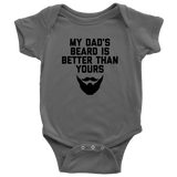 My Dad's Beard Onesie and Toddler Shirt - Sorry Charli