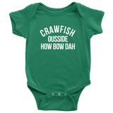 Crawfish Ousside How Bow Dah Child Onesie & Child Shirts - Sorry Charli