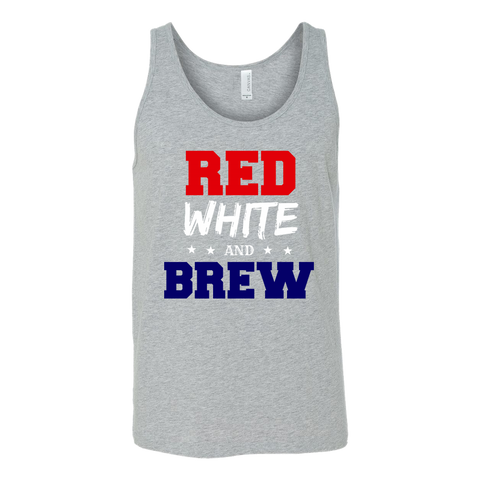 Red White and Brew Tank Top - Sorry Charli