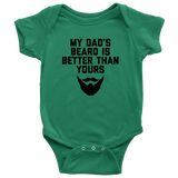 My Dad's Beard Onesie and Toddler Shirt