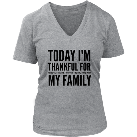 Today I'm thankful for my family - Sorry Charli