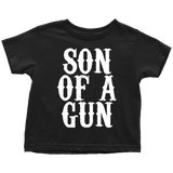 Son Of A Gun Matching Kid Set - Sorry Charli