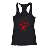 Little Miss Fireball Red Tank Top - Sorry Charli