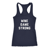 Wine Game Strong Tank Top Matching Set