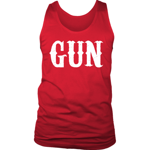 Gun Tank Top Adult Matching Set