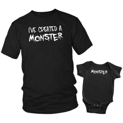 I've Created A Monster Matching Baby and Parent Outfit - Sorry Charli