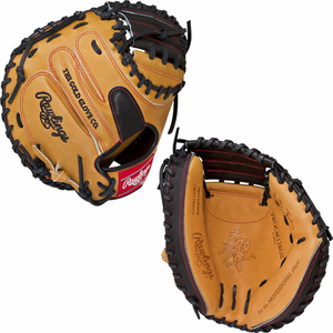 "2017 Rawlings Heart of the Hide CM33 Catcher's Mitt 33"" RHT"