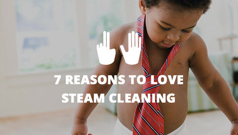 7 Reasons to Love Steam Cleaning