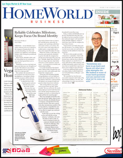 Reliable in the Latest Issue of HomeWorld Business Magazine!