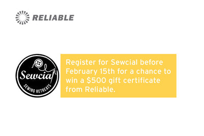 Register for Sewcial!