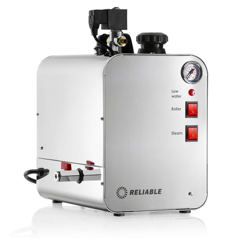 6000BU-3900IA PROFESSIONAL STEAM BOILER WITH WAND - STAINLESS STEEL BOILER AND TANK