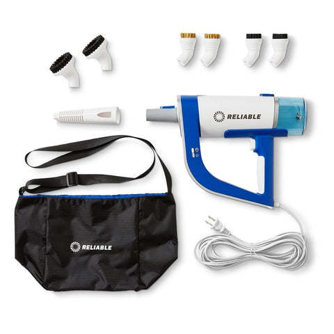 200CS Portable Steam Cleaner - complete accessory kit