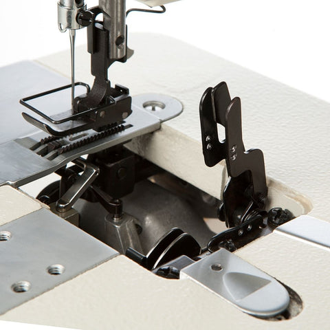 4900SC DIRECT DRIVE CHAINSTITCH SEWING MACHINE - LOOPER THREAD GUIDE
