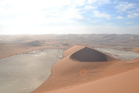 Who's the Daddy? Taking on Namibia's largest sand dune, and winning (sort of)